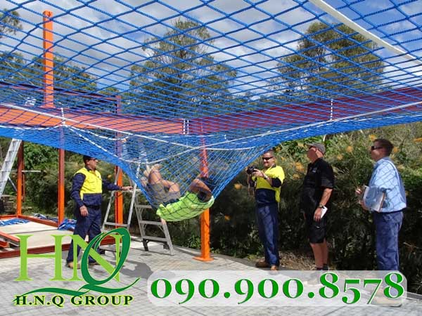 lưới an toàn hàn quốc 5cm blue