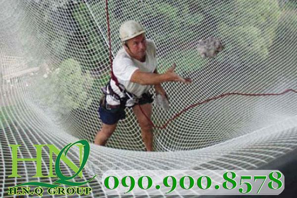 lưới chống rơi dây dù