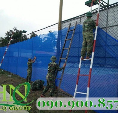 Lưới  công trình an toàn khối lượng 60-120g/m2