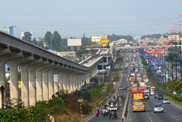 Tuyến Metro số 1 Bến Thành Suối Tiên