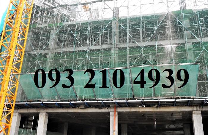 lưới chống bụi công trình