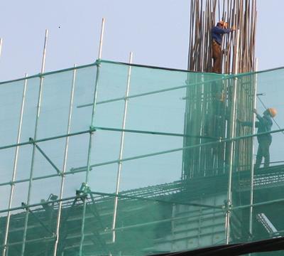 Lưới an toàn công trình sự bảo vệ tốt nhất cho công nhân công trình